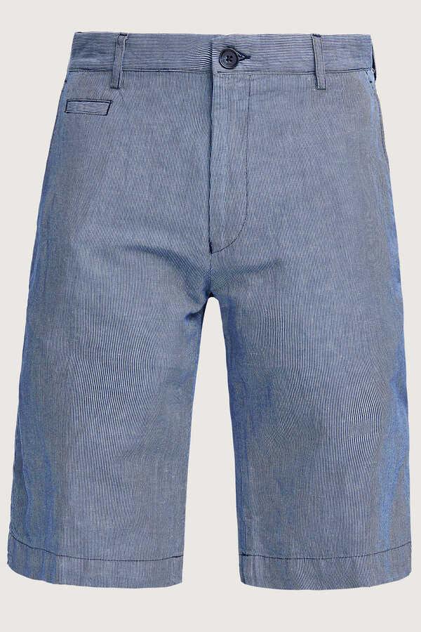 SMILE - DALIAN STRIPE BERMUDA SHORTS - BLUE (1)