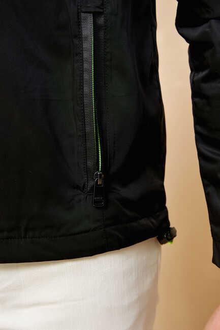 KAPOLEI WINDBREAKER BLACK - GREEN