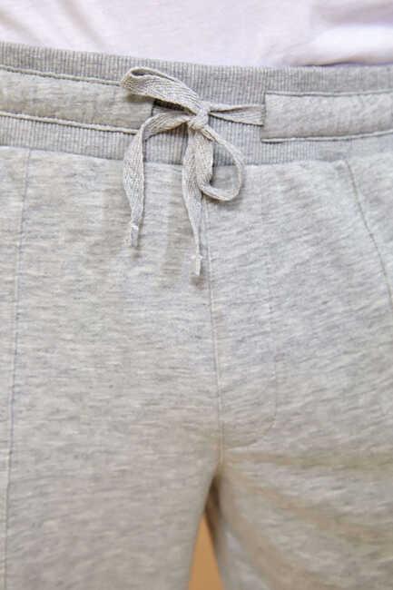 BEAVER SWEAT PANTS - GREY MELANGE