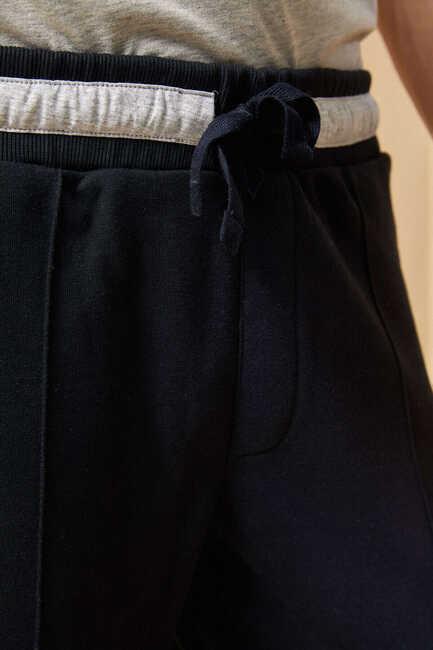 BEAVER SWEAT PANTS - NAVY
