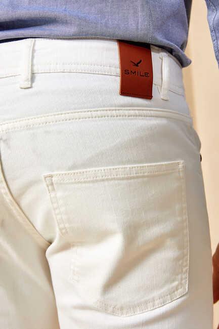 HAENA 5 POCKET PANTS - WHITE