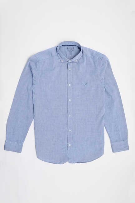 BAYPORT OXFORD SHIRT - DARK BLUE