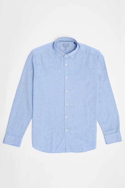 BAYPORT OXFORD SHIRT - LIGHT BLUE