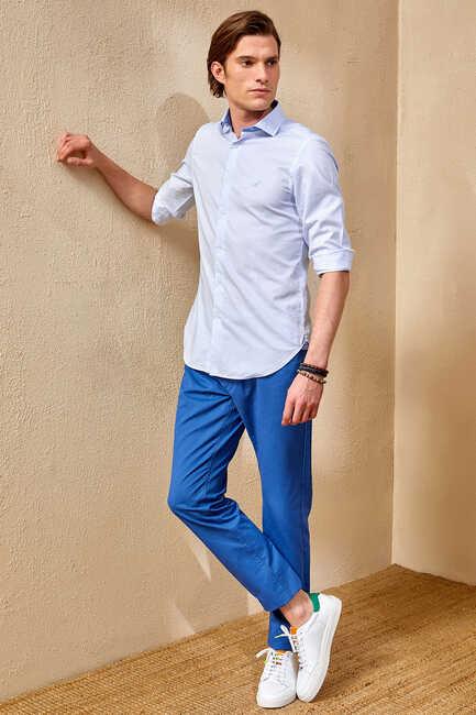 DELOSS SHIRT - BLUE
