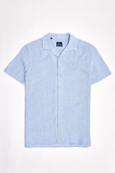 SMILE - LINAPACH SHIRT - BLUE (1)