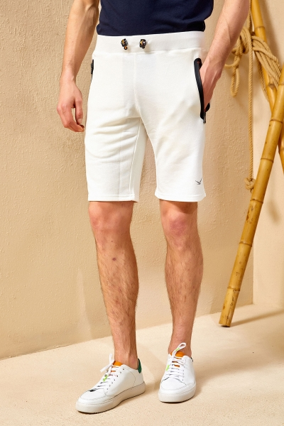 SMILE - TWOTH SHORTS - OFF WHITE