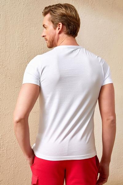 MORNE MAN T- SHIRT - WHITE