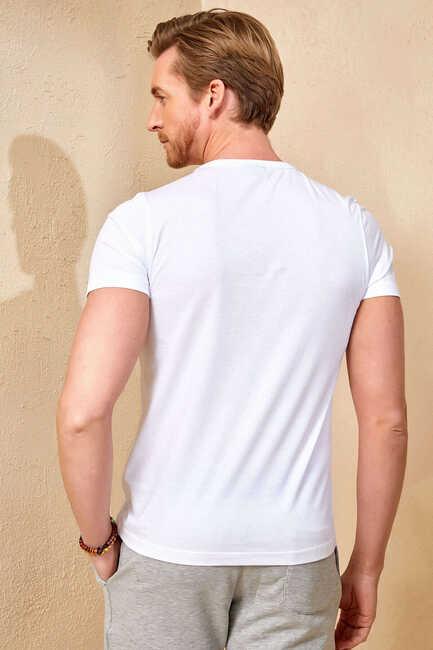 TORTOLA MAN T- SHIRT - WHITE
